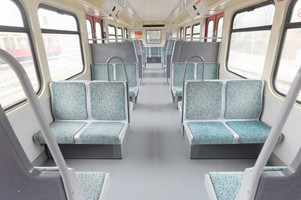 Interior of the 485 Construction series