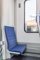 The new S-Bahn is equipped with it in every carriage
