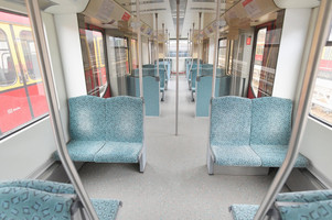 Interior of the 481 series