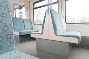 Interior of the 480 series