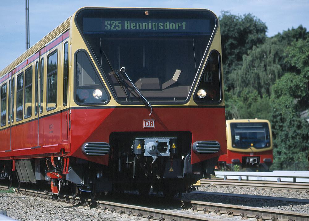 Our Current Vehicle Fleet   S-Bahn Berlin GmbH