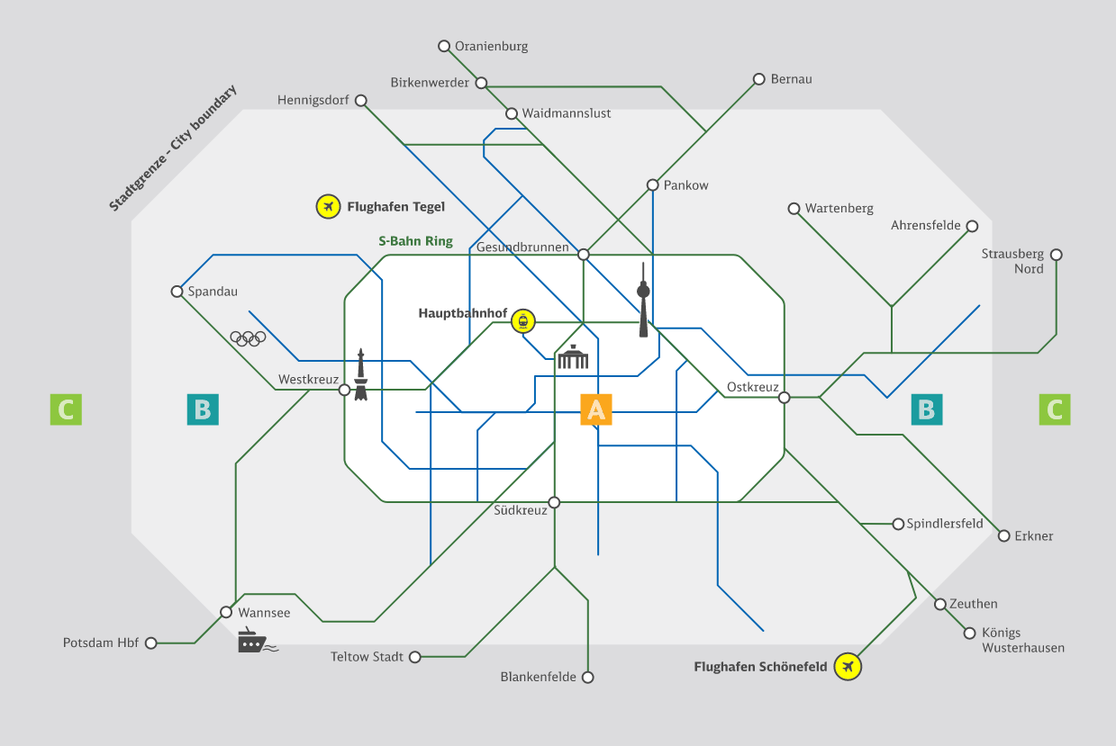 Tarifbereiche S Bahn Berlin Gmbh